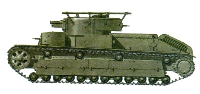 Танк Т-28, схема окраски.
